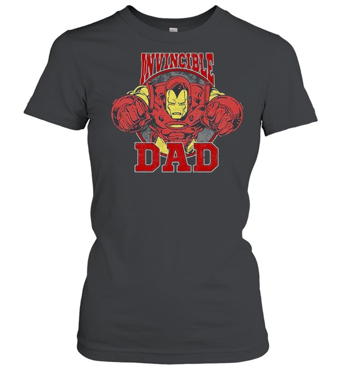 Marvel Iron Man Father's Day Invincible Dad shirt Classic Women's T-shirt
