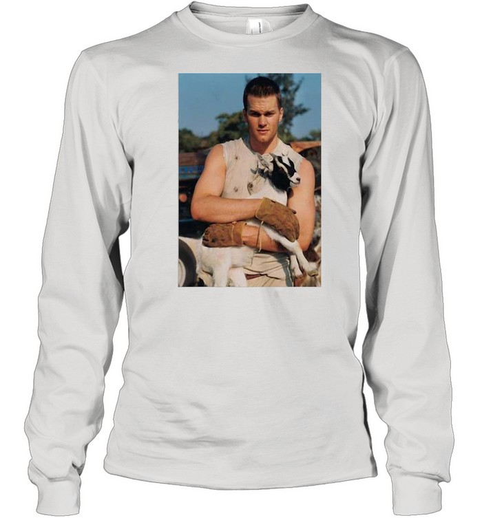 Tom Brady Goat shirt Long Sleeved T-shirt