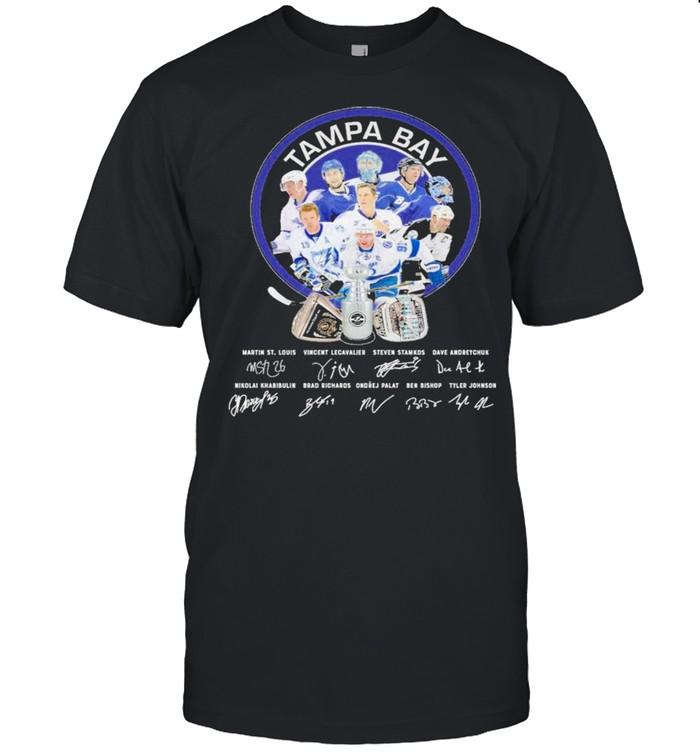 Tampa Bay Martin St Louis Vincent Lecavalier Steven Stamkos Signature Shirt