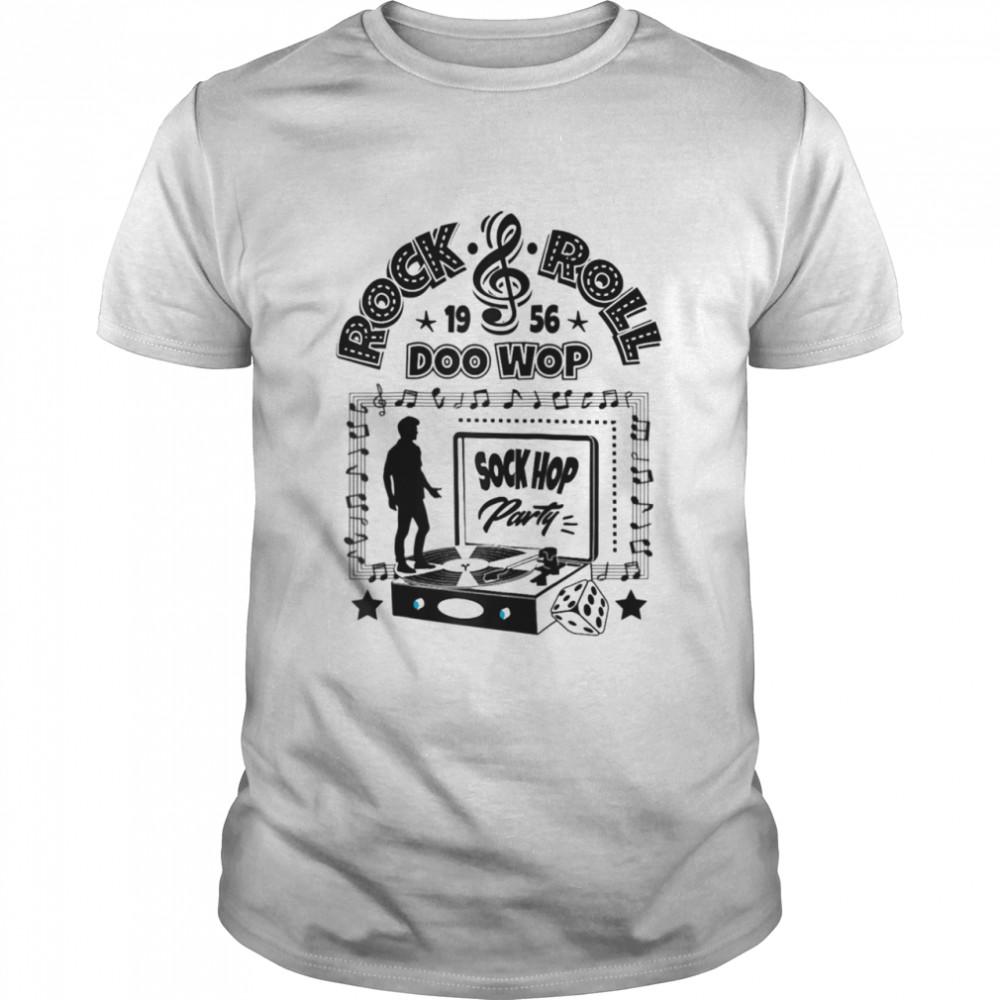 50s Sock Hop Party Doo Wop Rockabilly 1950s Rock and Roll Shirt