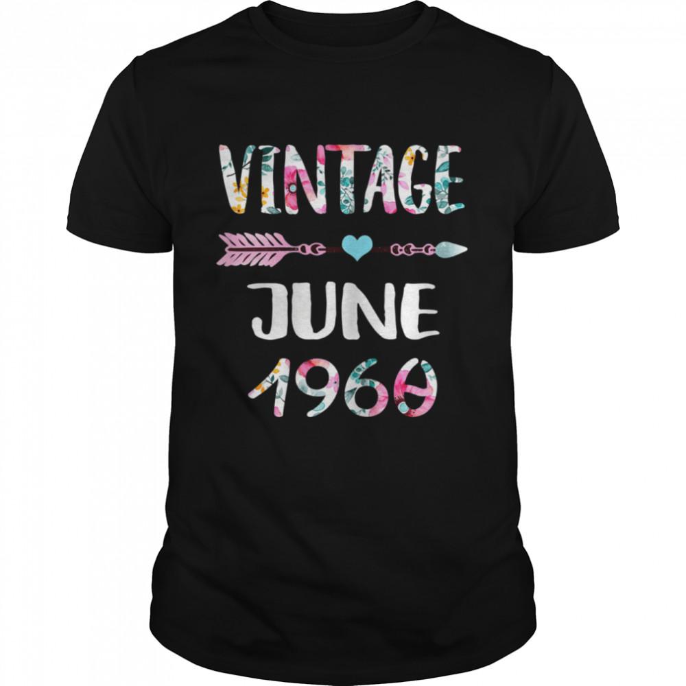 June Girls 1960 61st Birthday 61 Year Vintage Since 1960 Shirt