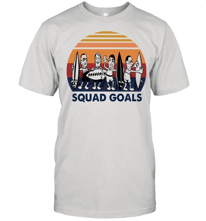 Surfing Squad Goals vintage shirt