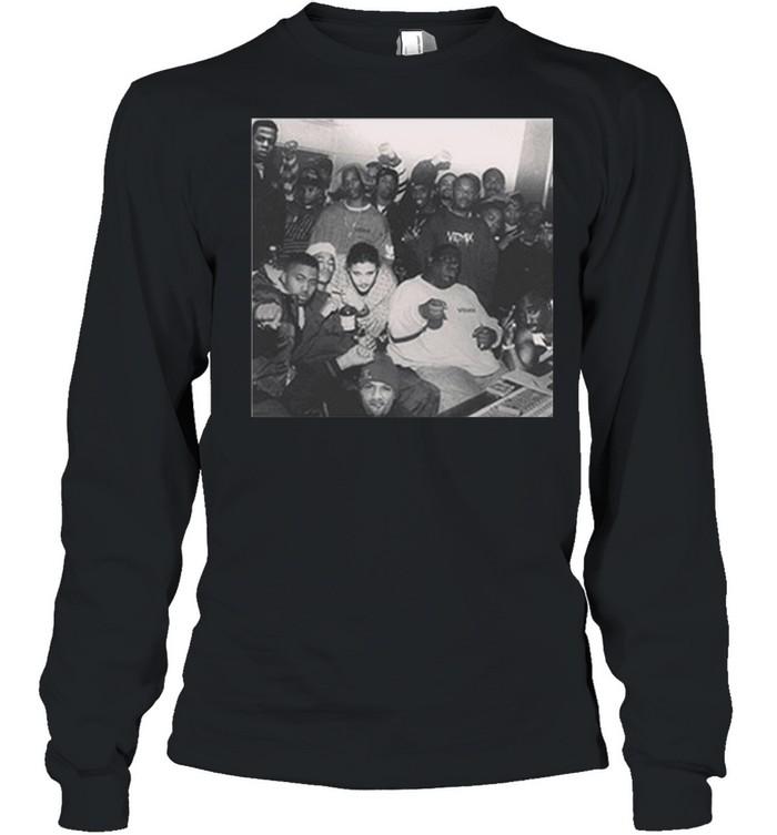 Tupac And DMX 2021 shirt Long Sleeved T-shirt