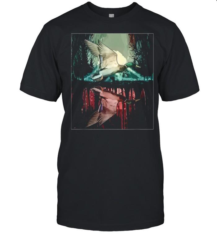 Jungle aesthetic mallard shirt Classic Men's T-shirt