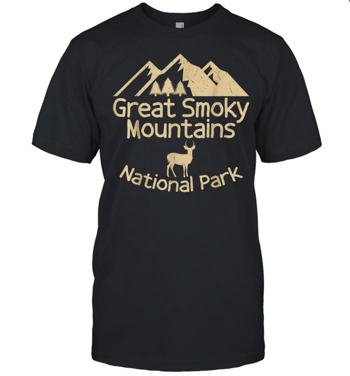 Great Smoky Mountain National Parks Clingmans Dome shirt Classic Men's T-shirt
