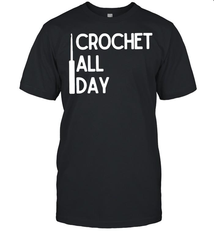 Crochet All Day  Classic Men's T-shirt