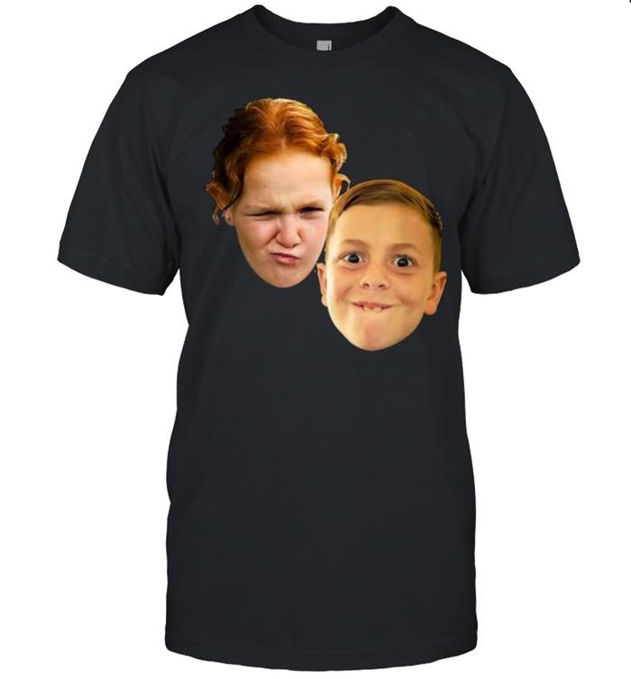 Goofy Face Kids Making Art T- Classic Men's T-shirt