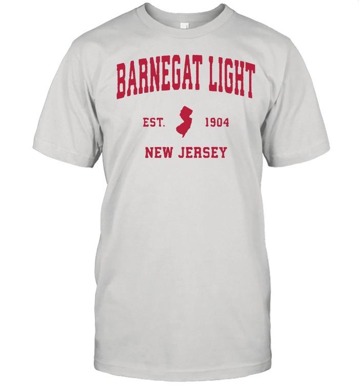 Barnegat Light New Jersey 1904 NJ Vintage Sports  Classic Men's T-shirt