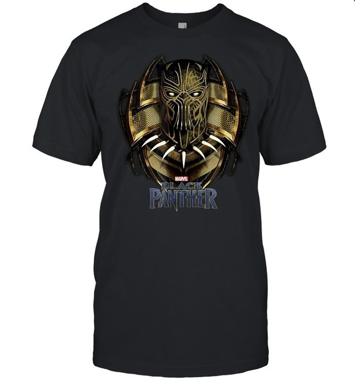 Marvel Black Panther Movie Killmonger Golden Jaguar T-shirt Classic Men's T-shirt