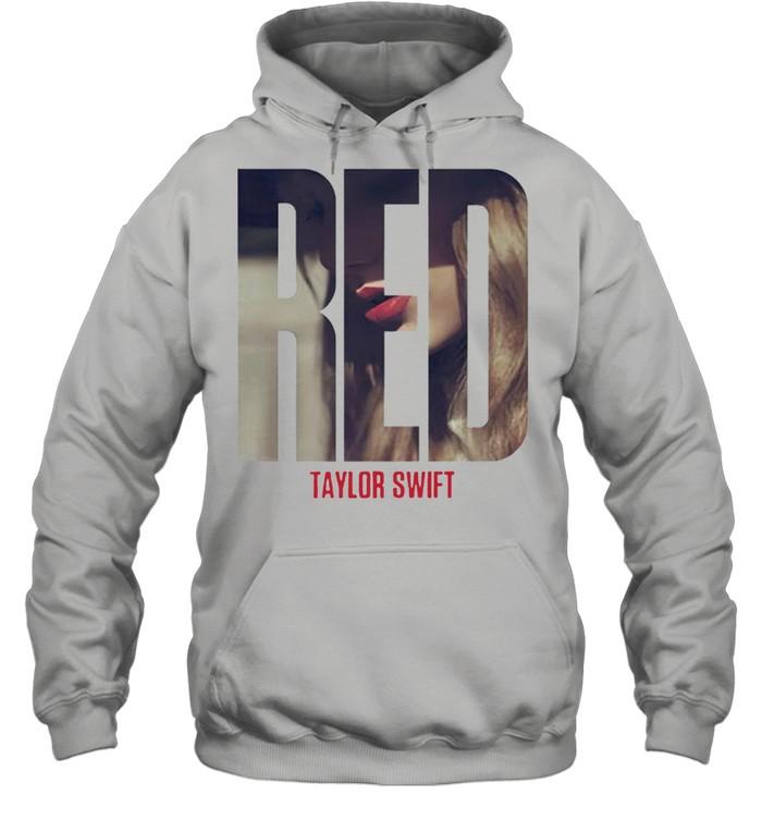 Taylor Swift red album shirt Unisex Hoodie