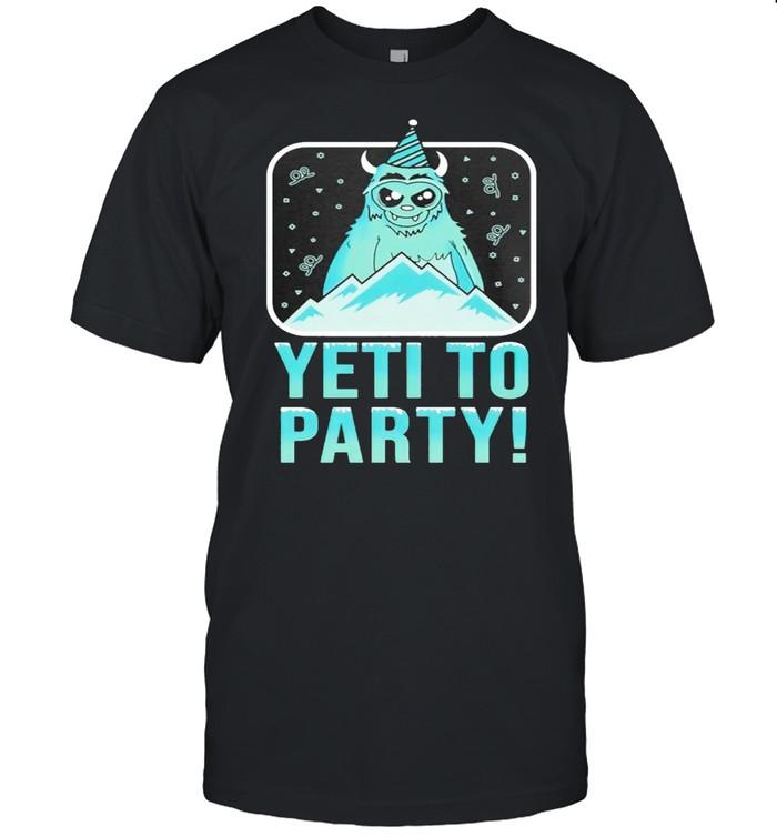 Yeti To Party shirt Classic Men's T-shirt