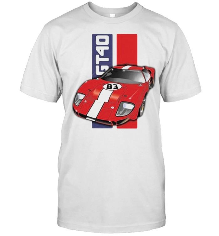 Ford GT40  Classic Men's T-shirt