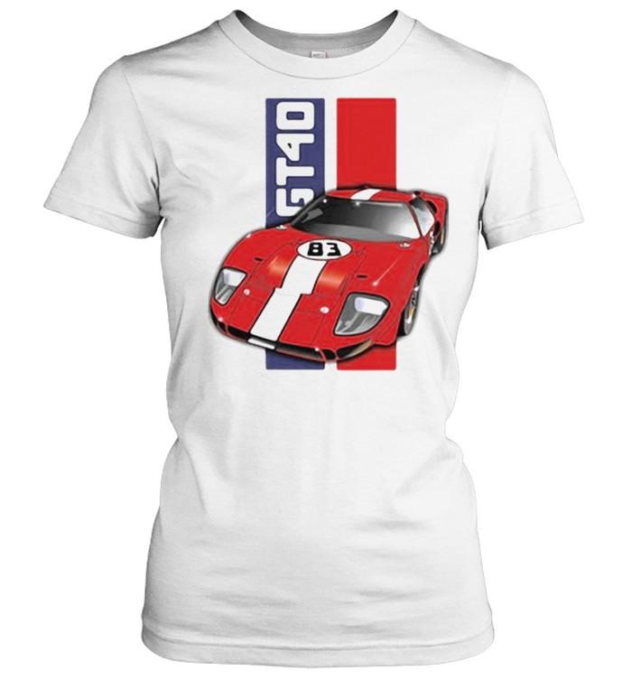 Ford GT40  Classic Women's T-shirt
