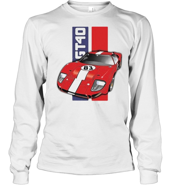 Ford GT40  Long Sleeved T-shirt
