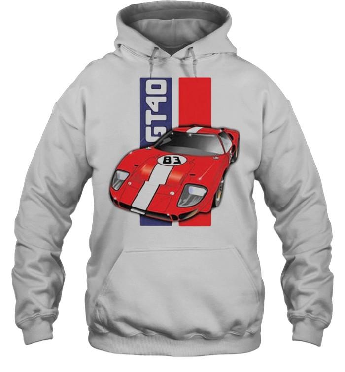 Ford GT40  Unisex Hoodie
