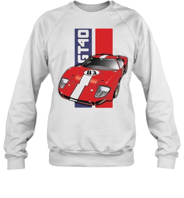 Ford GT40  Unisex Sweatshirt