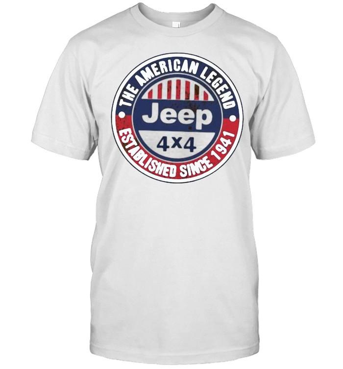 The American Legend Established Since 1941 Jeep  Classic Men's T-shirt