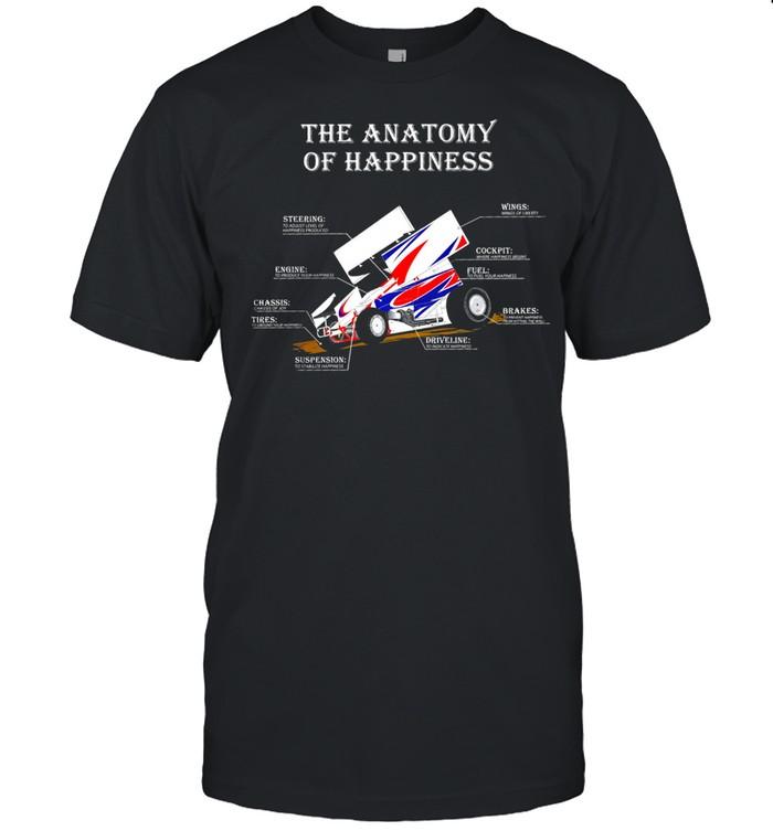 The anatomy of happiness shirt Classic Men's T-shirt