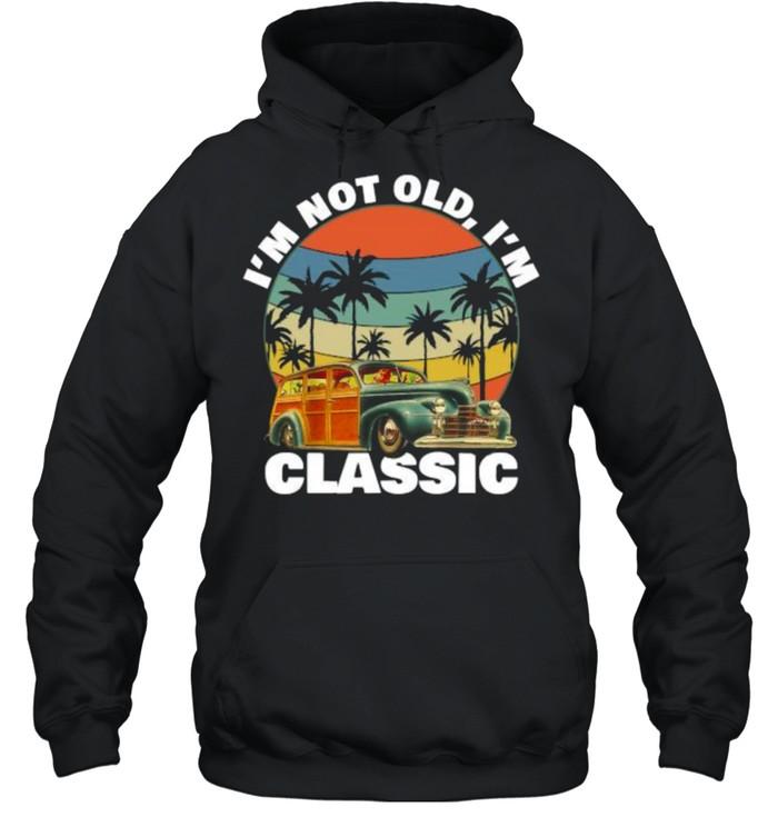 Im not old im classic Pineapple Tree Summer Vintage T- Unisex Hoodie