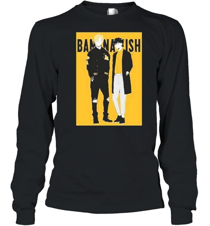 Banana Fish shirt Long Sleeved T-shirt
