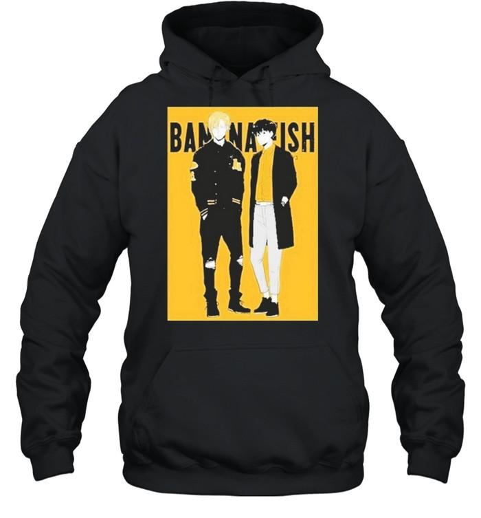 Banana Fish shirt Unisex Hoodie