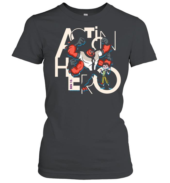 Ben 10 Action Hero shirt Classic Women's T-shirt