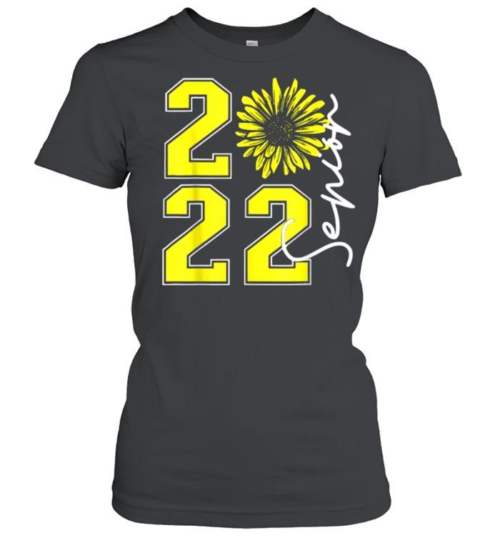 Class of 2022 Sunflower Seniors Graduation 2022 T- Classic Women's T-shirt