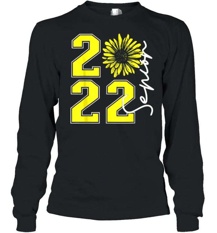 Class of 2022 Sunflower Seniors Graduation 2022 T- Long Sleeved T-shirt