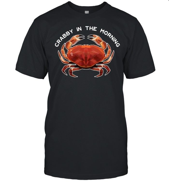 Crabby in the Morning T- Classic Men's T-shirt