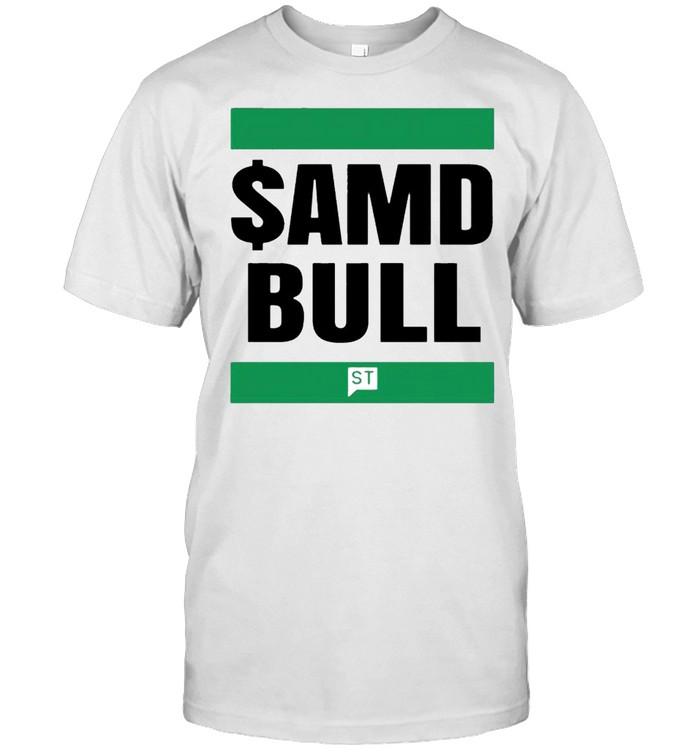 $AMD bull shirt Classic Men's T-shirt