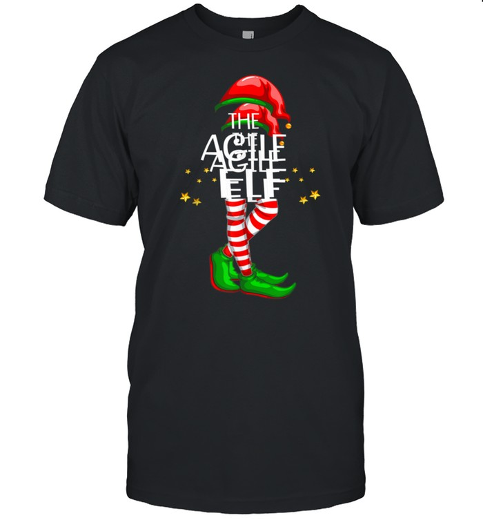 The Agile Elf Matching Family Group Christmas Party PJ shirt Classic Men's T-shirt