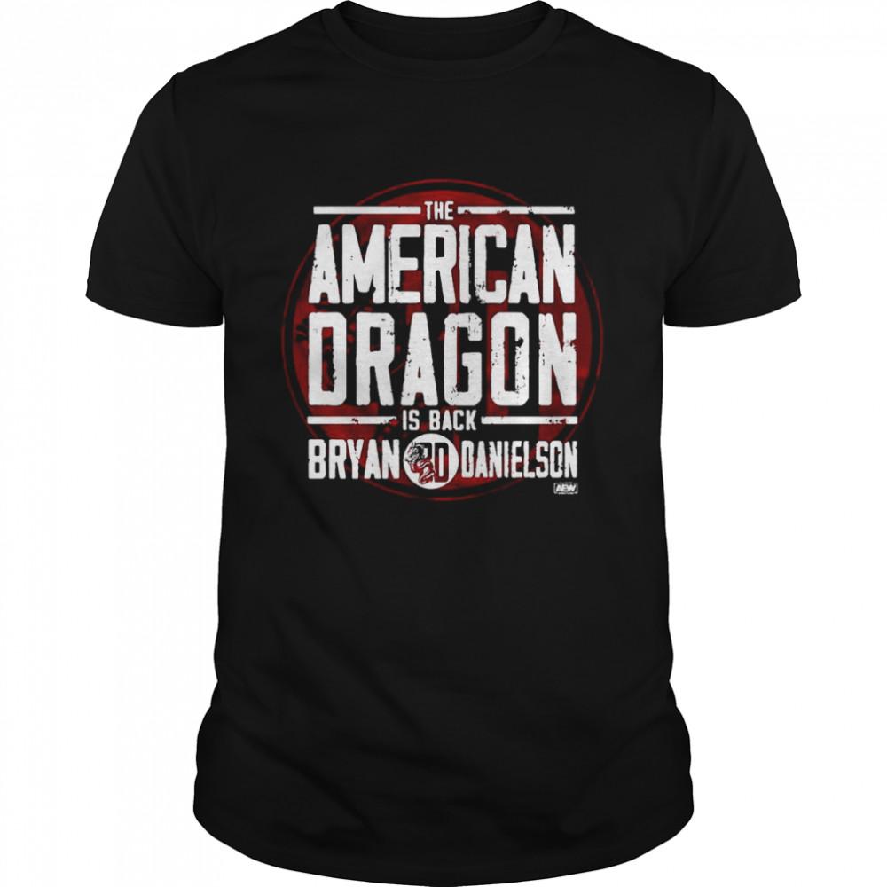 The American Dragon Is Back Bryan BD Danielson T-shirt Classic Men's T-shirt