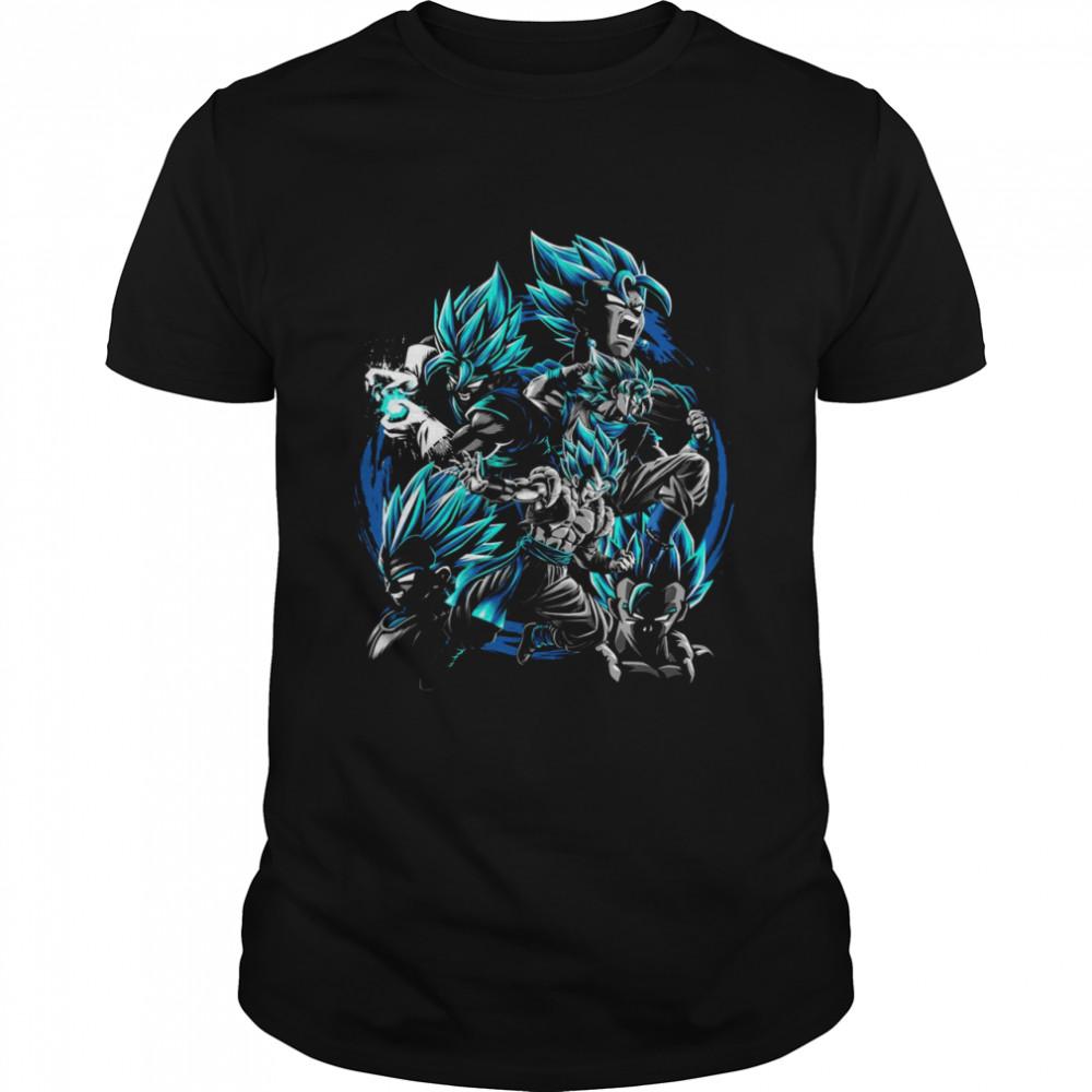 Son Goku fusion Vegeta Dragon ball z shirt Classic Men's T-shirt