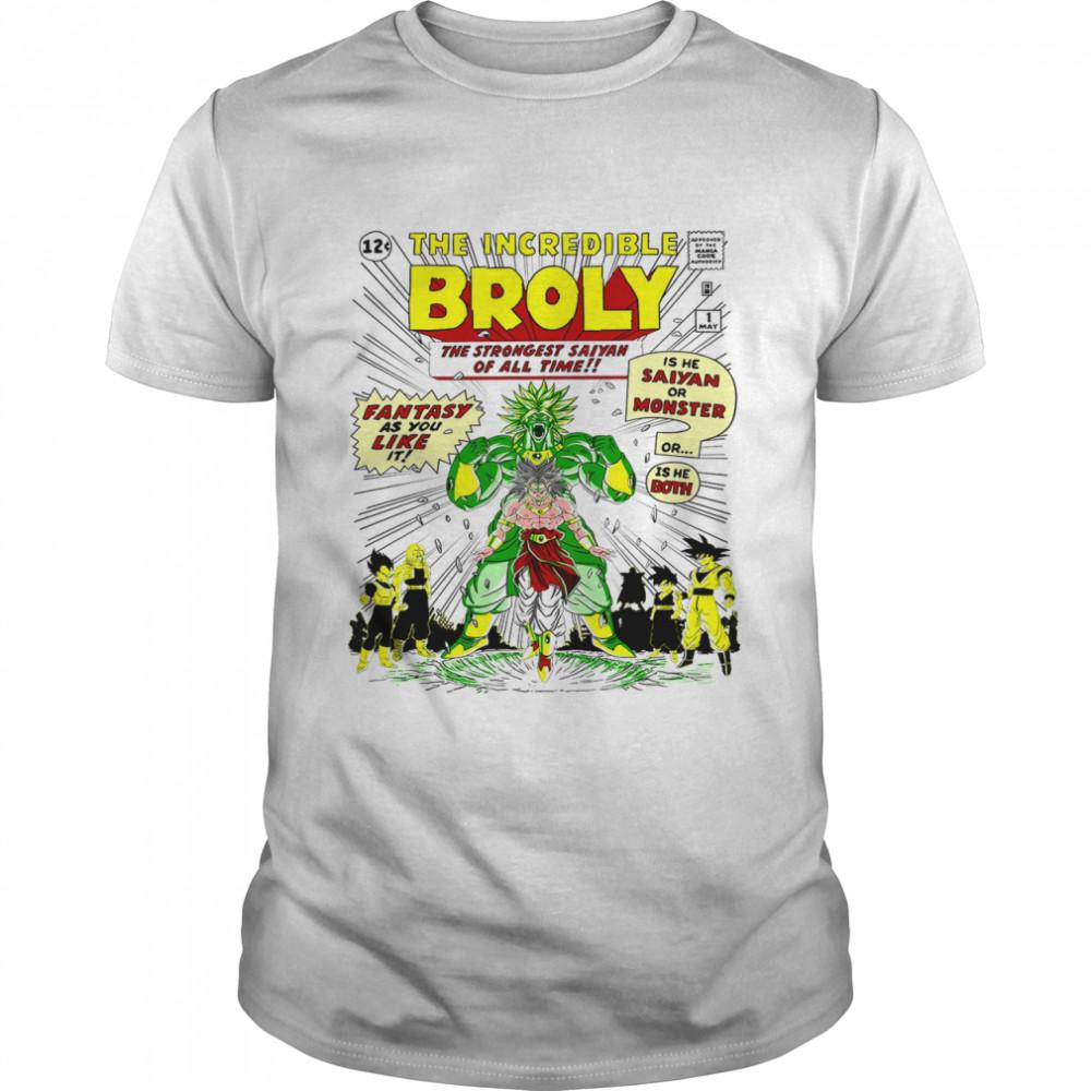 The incredible Broly shirt Classic Men's T-shirt