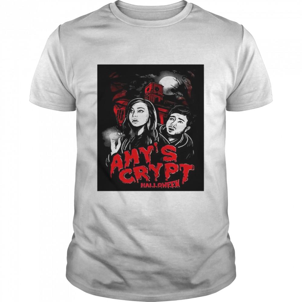 Amy's Crypt Halloween T-shirt Classic Men's T-shirt