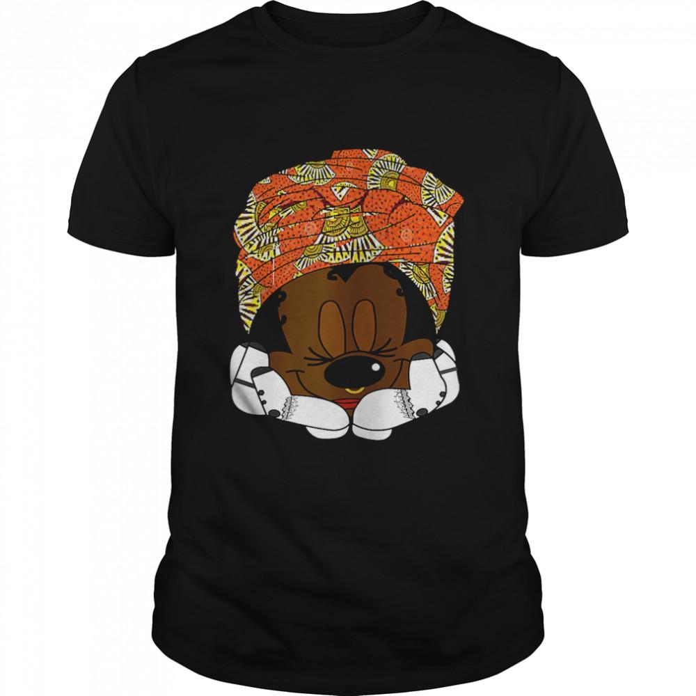 Nigerian Princess Graphic Rat Wrapped In Turban T- Classic Men's T-shirt