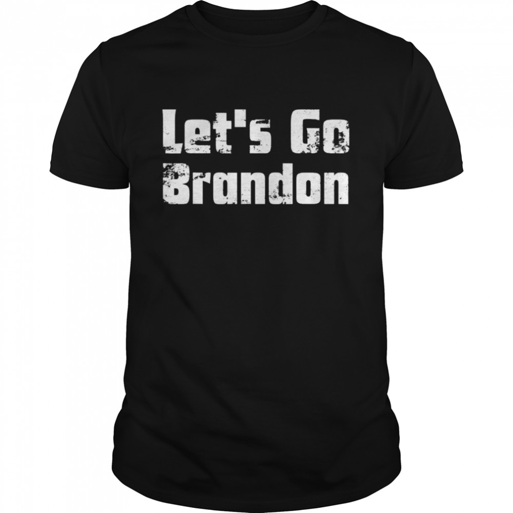 Let's Go Brandon Joe Biden Chant Impeach  Classic Men's T-shirt